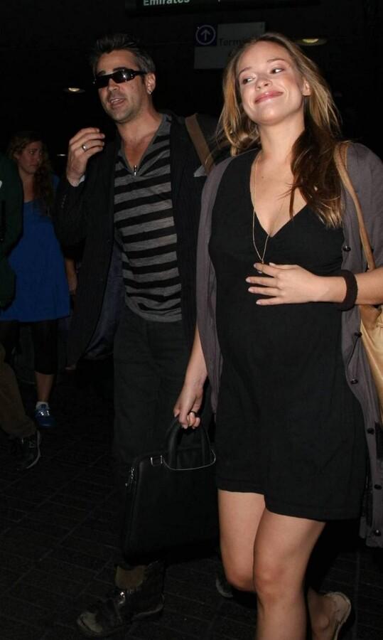 У Колина Фаррелла будет ребенок?
