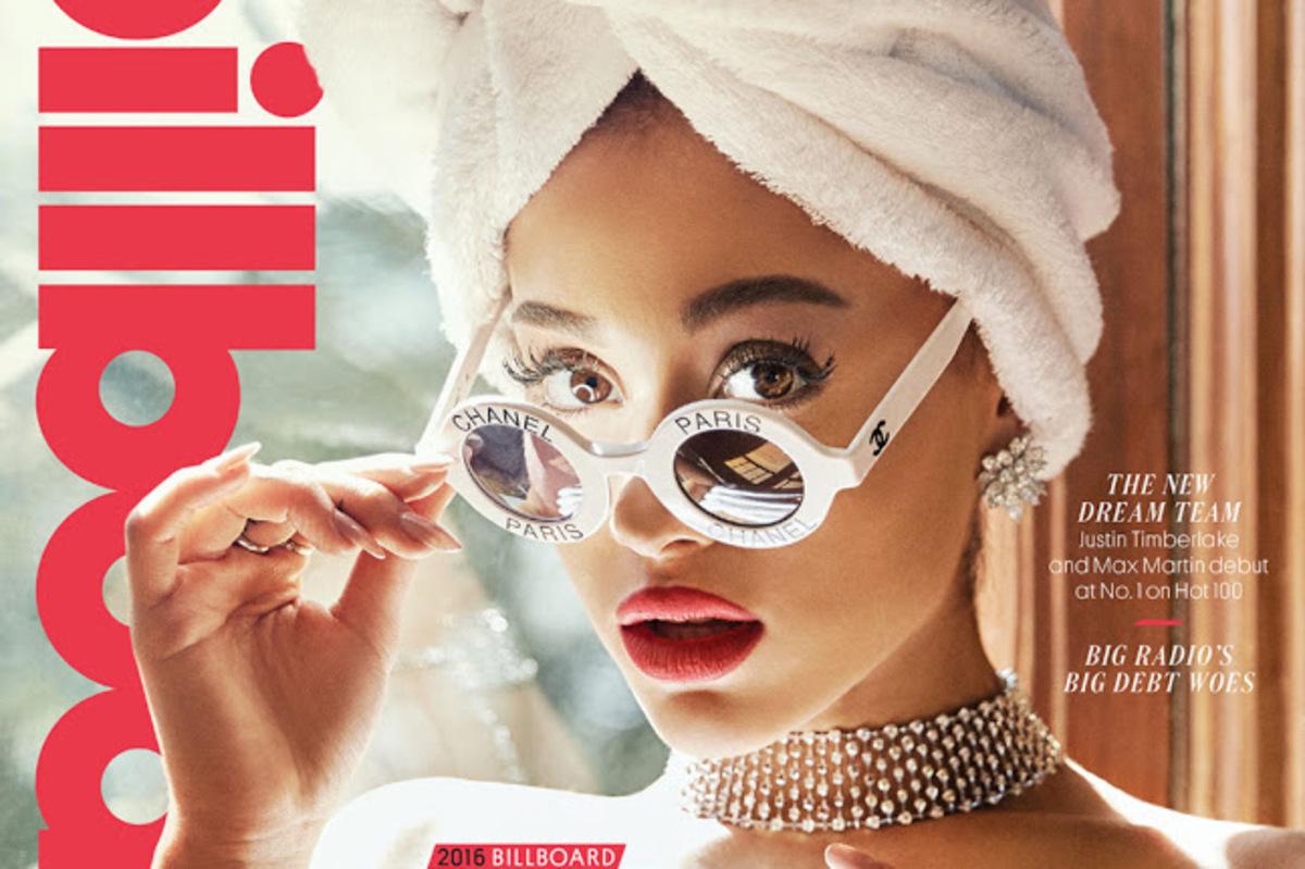Ариана Гранде рассказала о новом бойфренде в фотосессии Billboard