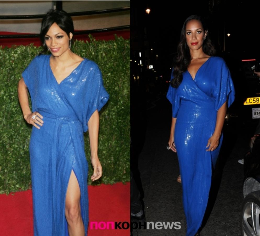 Fashion Battle: Розарио Доусон и Леона Льюис