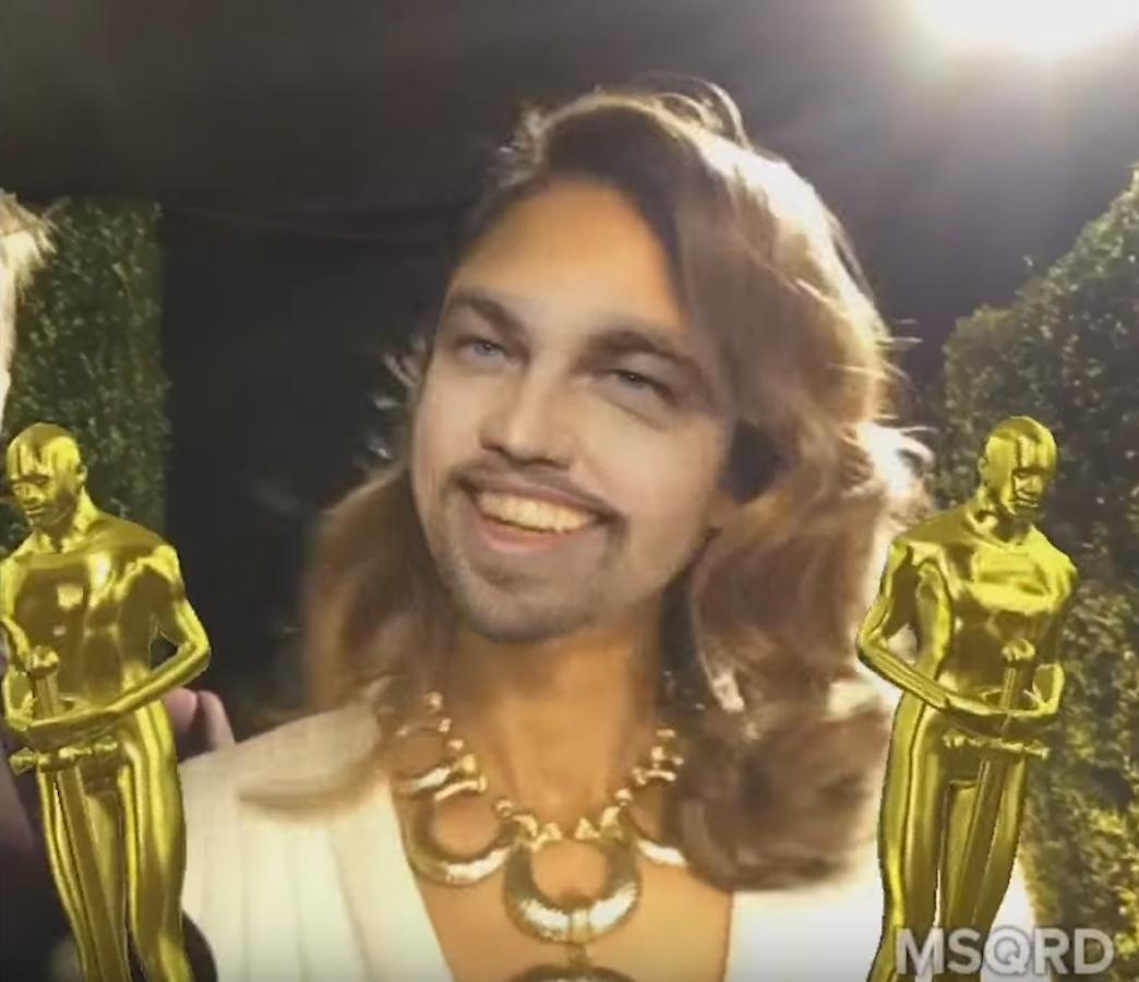 Видео: Джессика Альба, Кейт Аптон и другие примеряют образ Леонардо ДиКаприо