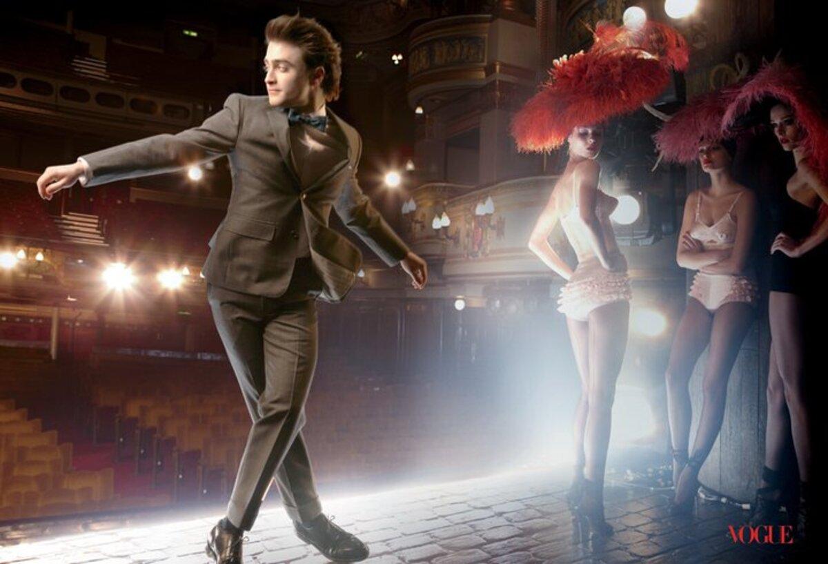 Дэниел Рэдклифф в журнале Vogue. Март 2011