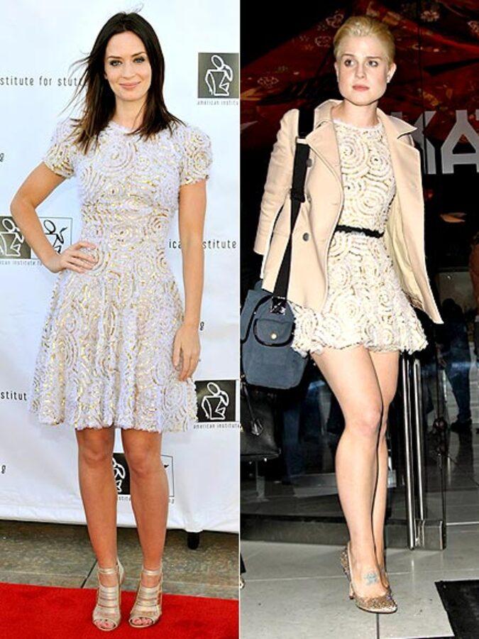 Fashion Battle: Эмили Блант и Келли Осборн