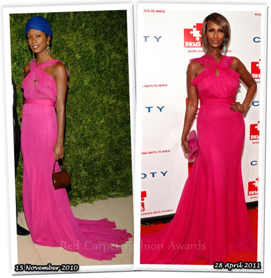 Fashion Battle: Шала Монрок и Иман