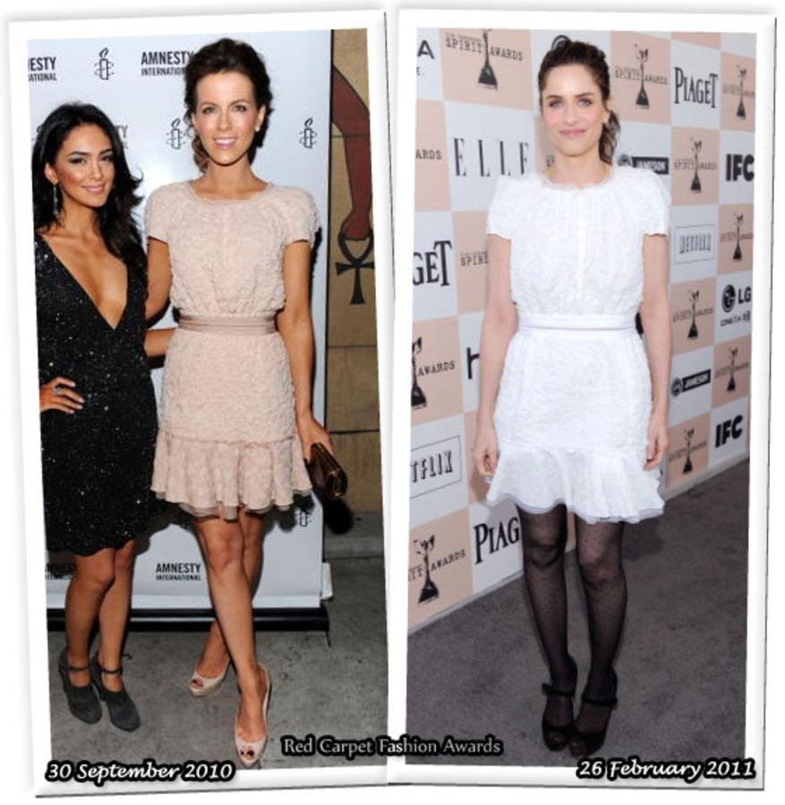 Fashion Battle: Кейт Бекинсэйл и Аманда Пит