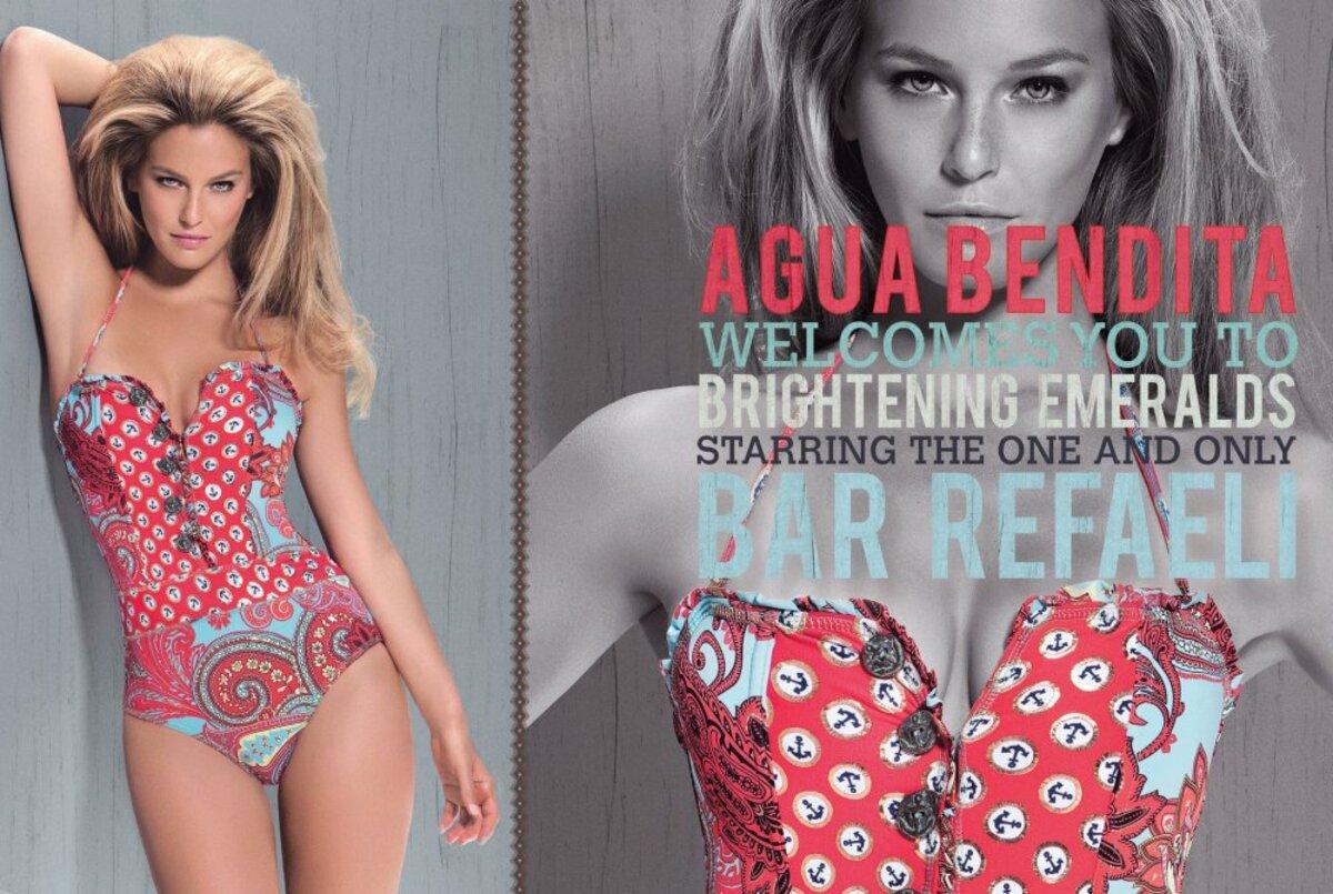 Бар Рафаели для весенне-летней коллекции 2012 Agua Bendita