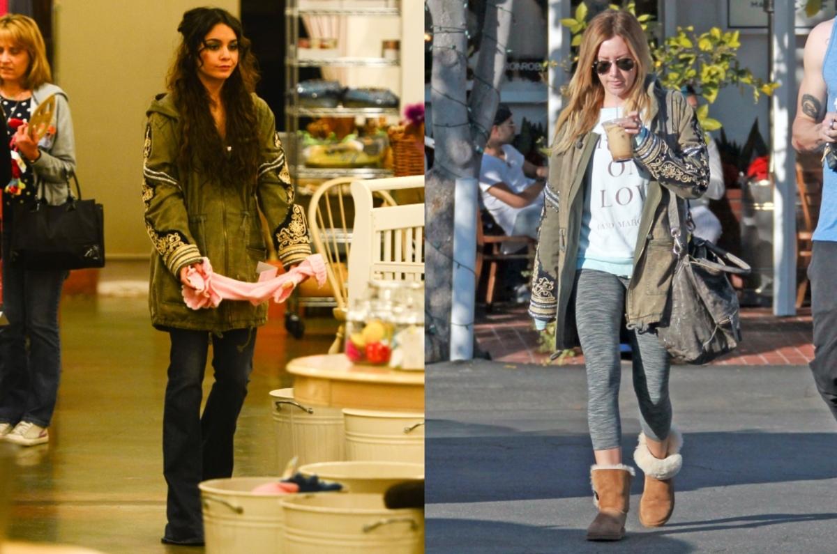 Fashion battle: Ванесса Хадженс и Эшли Тисдейл