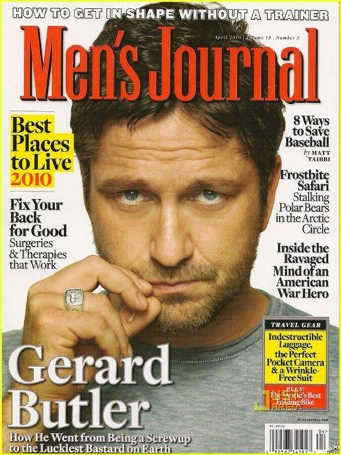 Джерард Батлер в Men's Journal: Джен - моя семья!