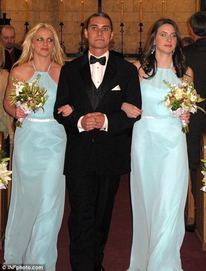 Бритни Спирс на свадьбе подруги