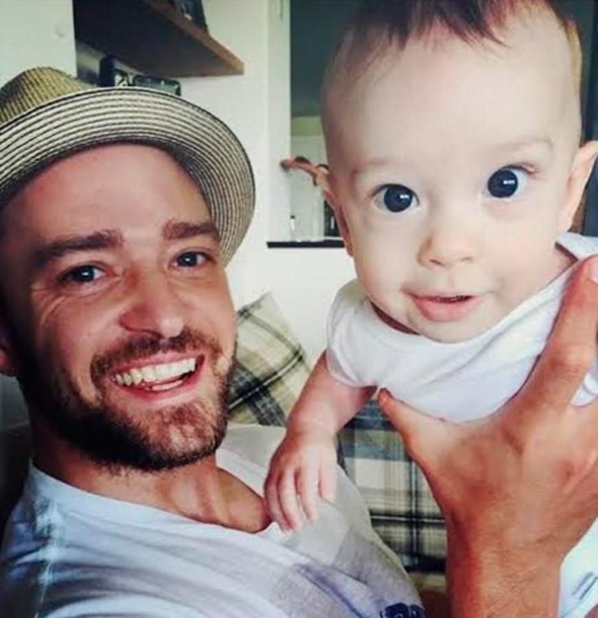 Джастин Тимберлейк показал новые фото сына