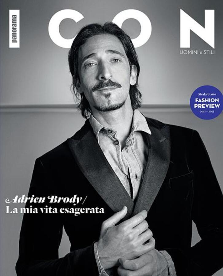 Эдриан Броуди в журнале Icon