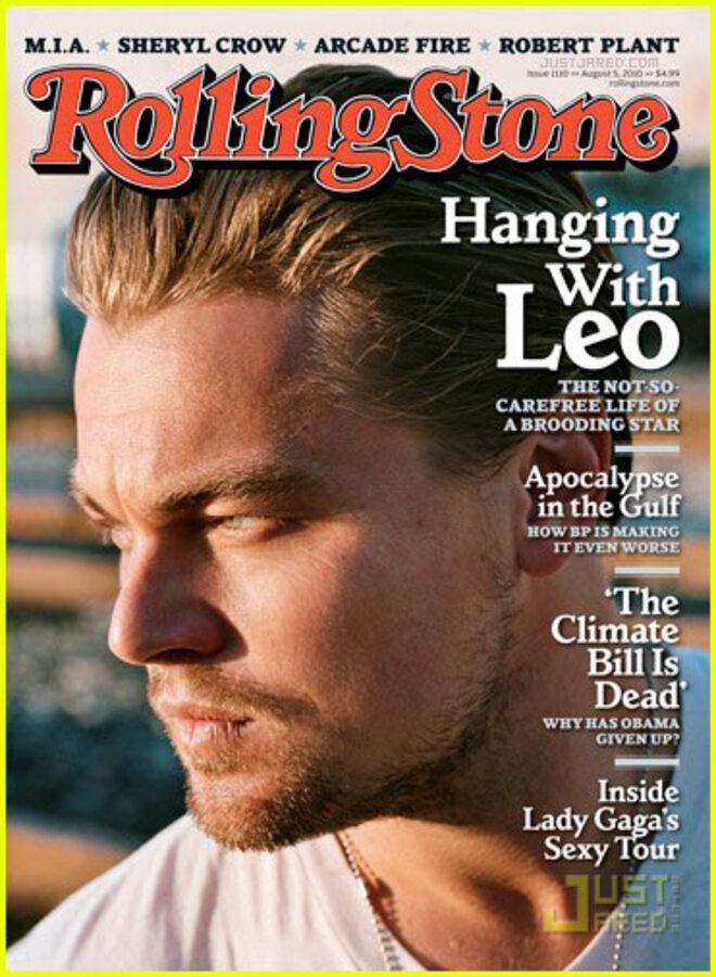 Леонардо ДиКаприо разделся для Rolling Stone