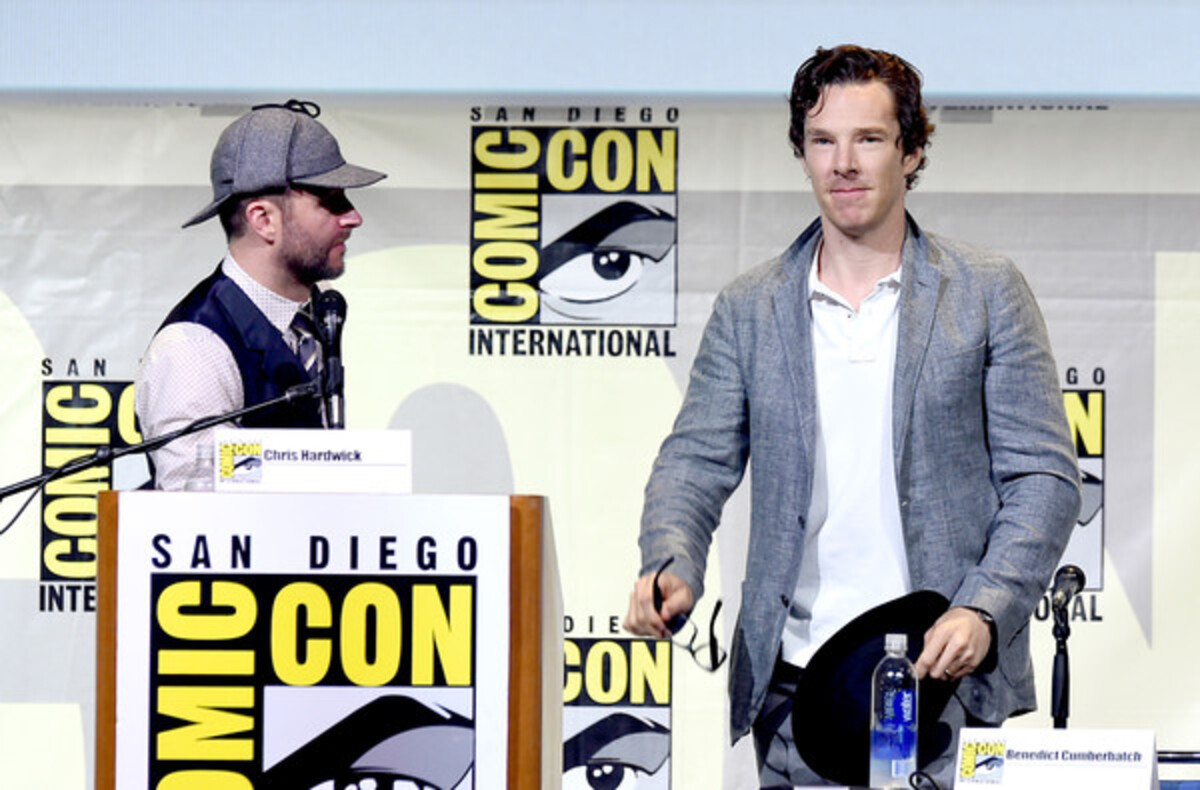 Фото репортаж с Comic Con 2016: звезды «Шерлока»