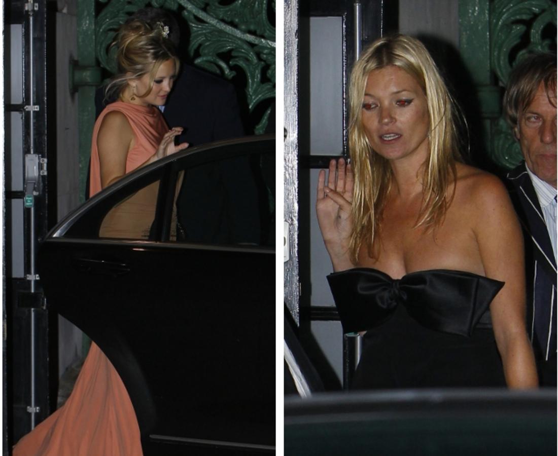 Кейт Хадсон и Кейт Мосс на праздничной вечеринке Стелы МакКартни