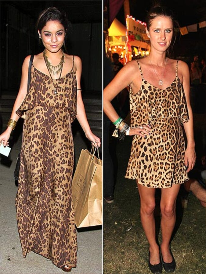 Fashion Battle: Ванесса Хадженс и Ники Хилтон