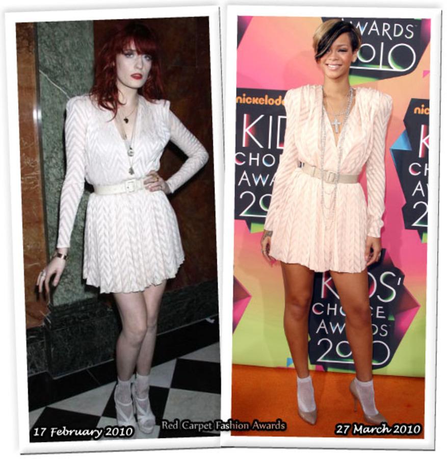 Fashion battle: Флоренс Уэлч и Рианна