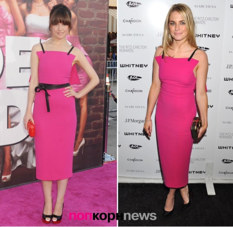 Fashion Battle: Роуз Бирн и Аманда Херст