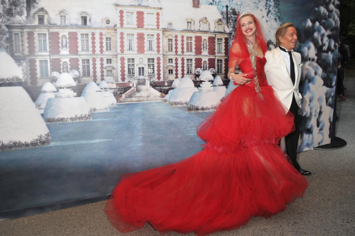 Звезды на благотворительном балу The White Fairy Tale Love Ball