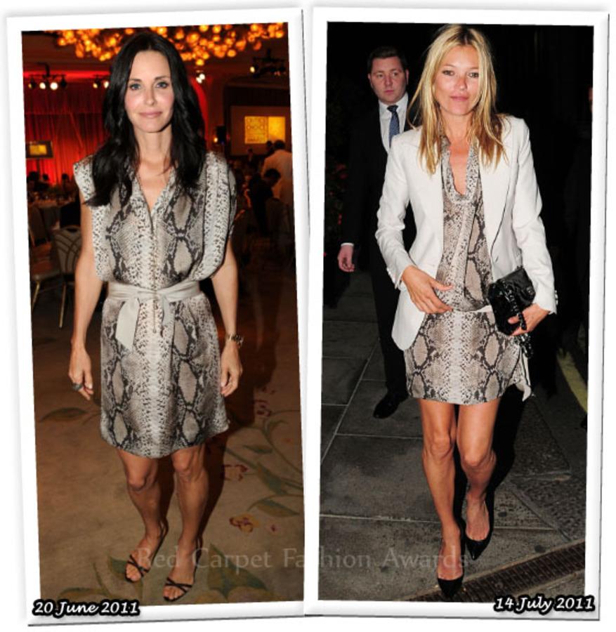 Fashion Battle: Кортни Кокс и Кейт Мосс