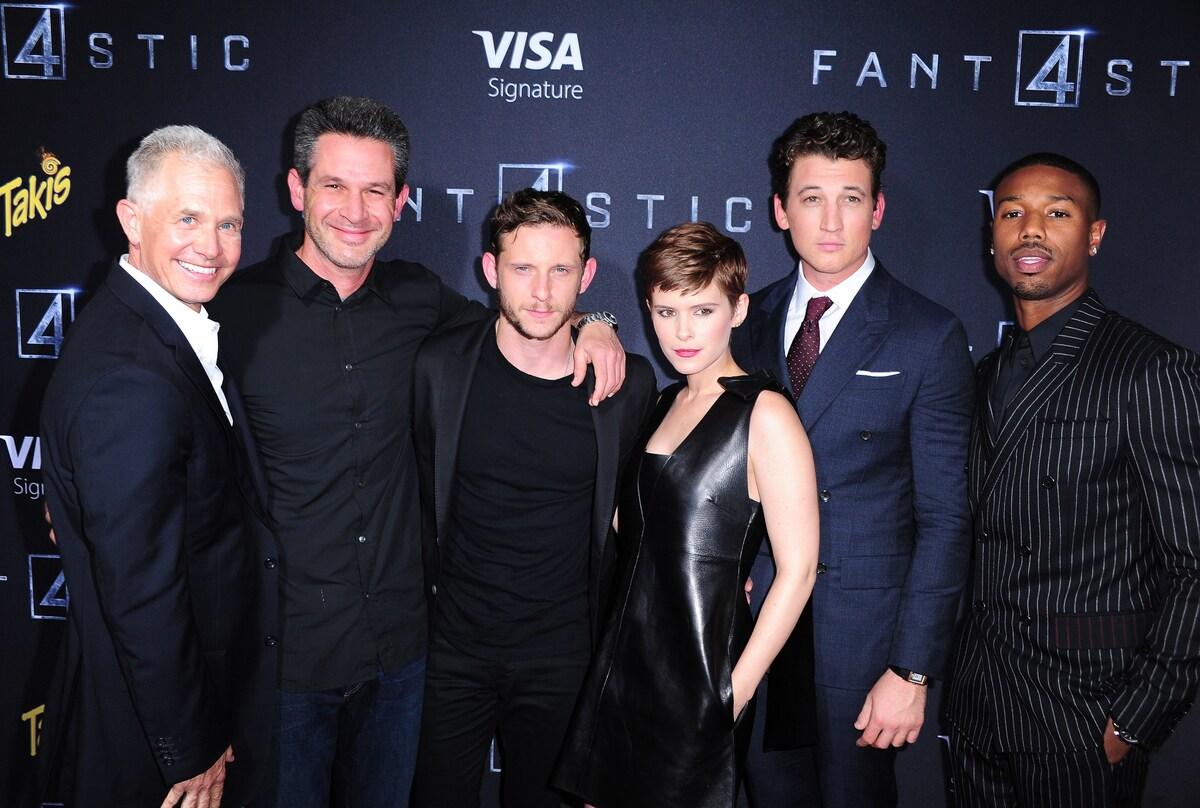 Премьера фильма «Фантастическая четверка» в Нью-Йорке