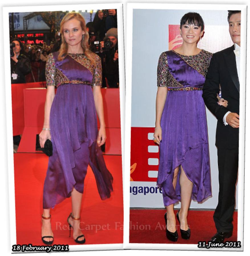 Fashion Battle: Дайан Крюгер и Чжан Цзыи
