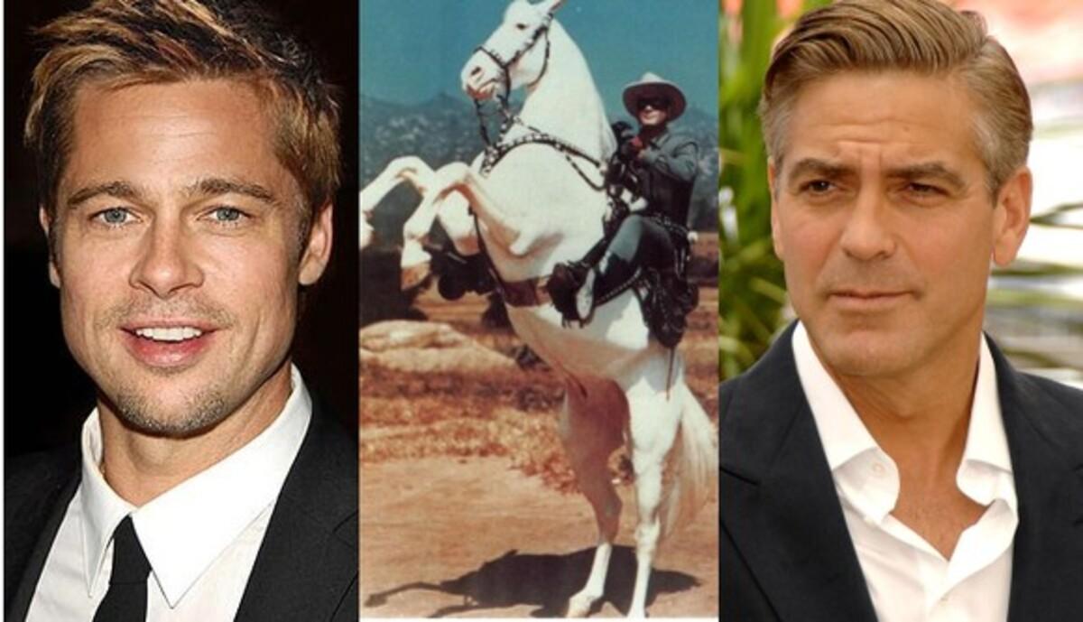 Джонни Депп хочет, чтобы Брэд Питт и Джордж Клуни стали «Одинокими рейнджерами»