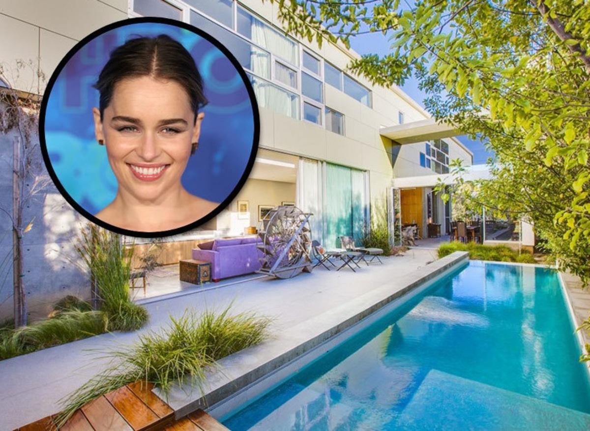 Звезда «Игры престолов» Эмилия Кларк обзавелась особняком в Лос-Анджелесе