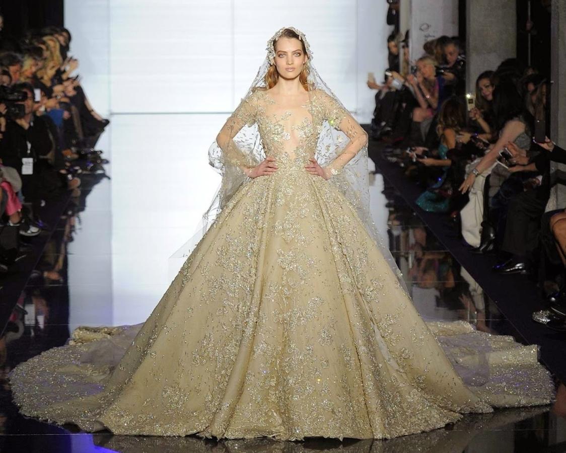 Модный показ новой коллекции Zuhair Murad Haute Couture. Весна / лето 2015