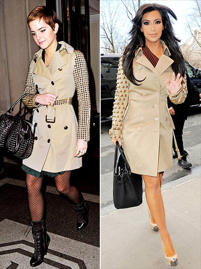 Fashion Battle: Эмма Уотсон и Ким Кардашиан