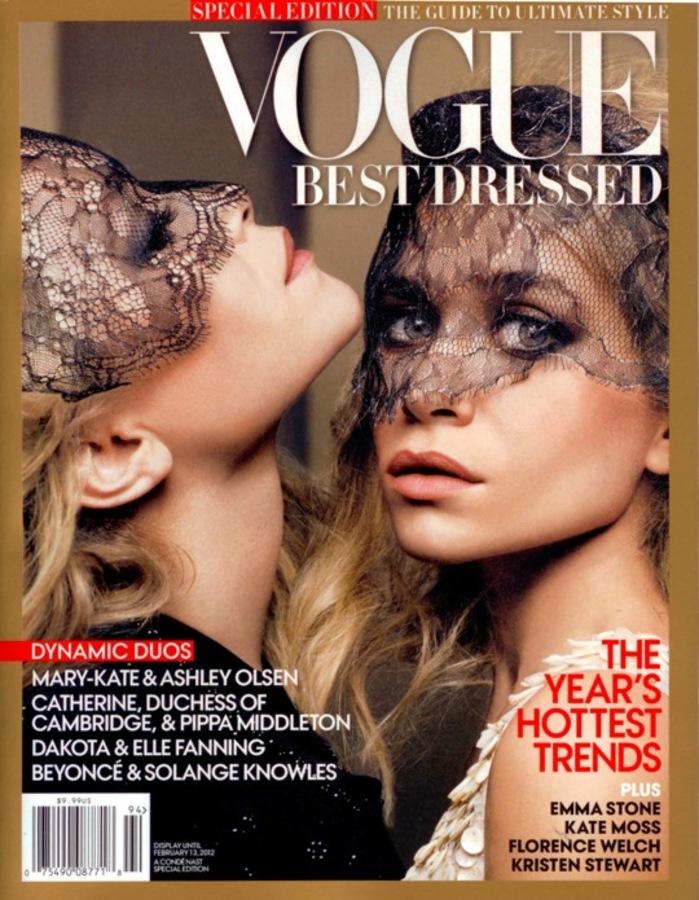Мэри-Кейт и Эшли Олсен в журнале Vogue Best Dressed. 2011