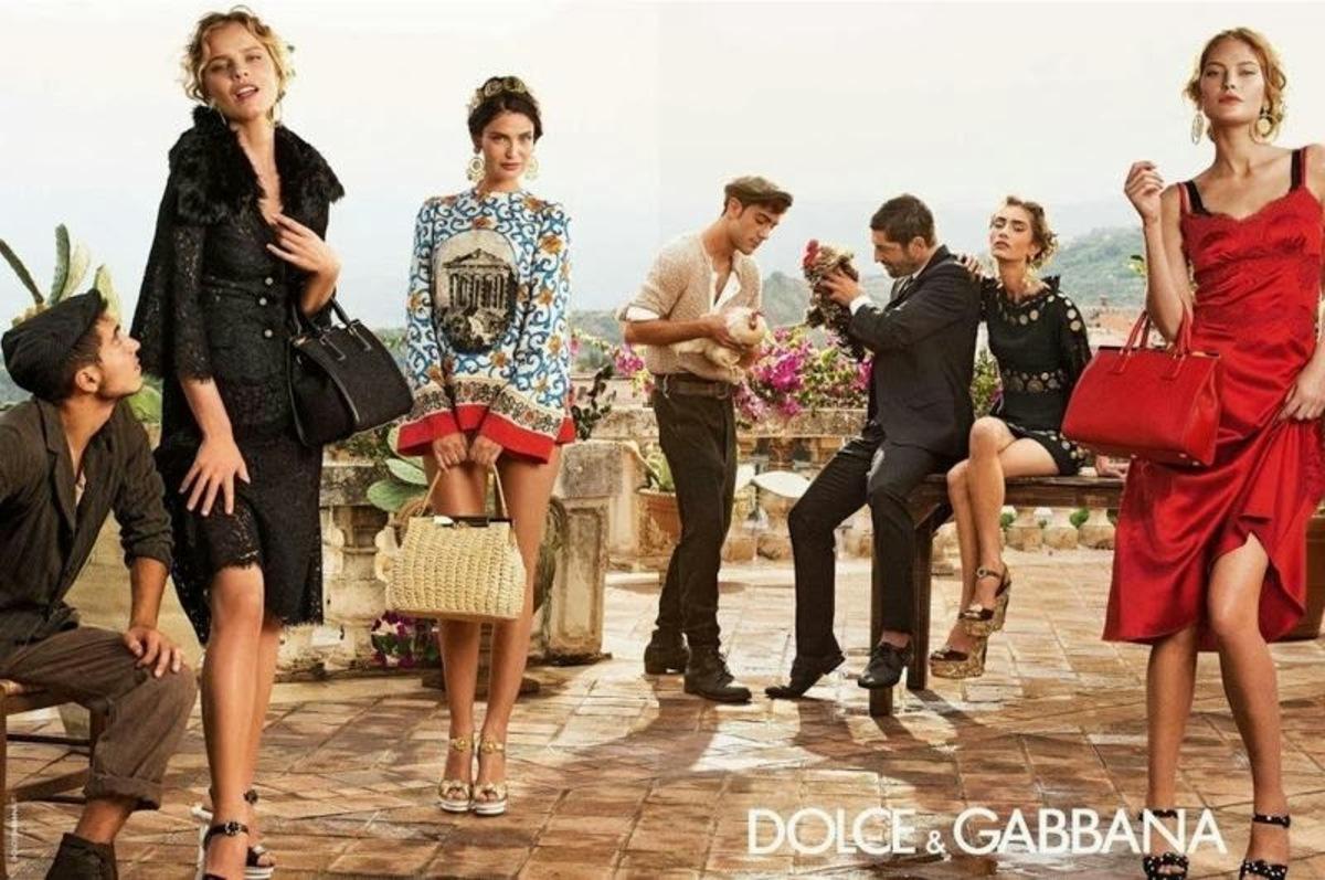 Рекламная кампания Dolce & Gabbana. Весна 2014