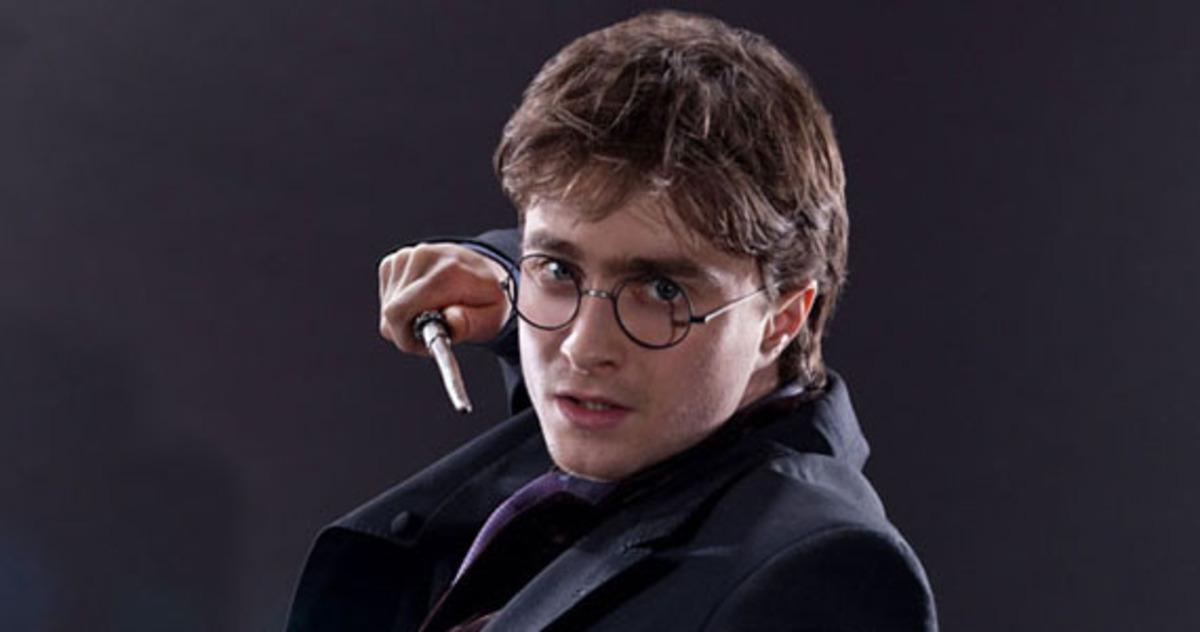 Дэниел Рэдклифф украл очки Гарри