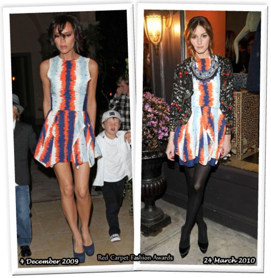Fashion battle: Виктория Бэкхем и Оливия Палермо