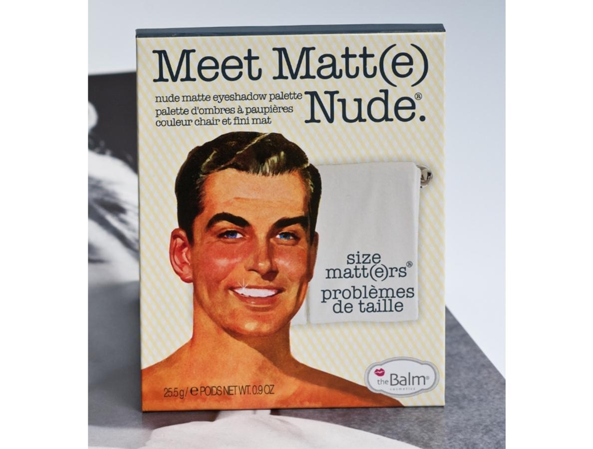 Секреты красоты: палетка матовых теней The Balm Meet Matt(e) Nude
