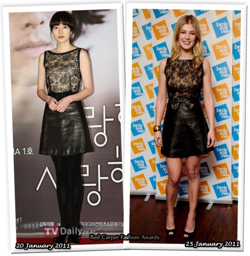 Fashion Battle: Им Су-Чжон и Розамунд Пайк