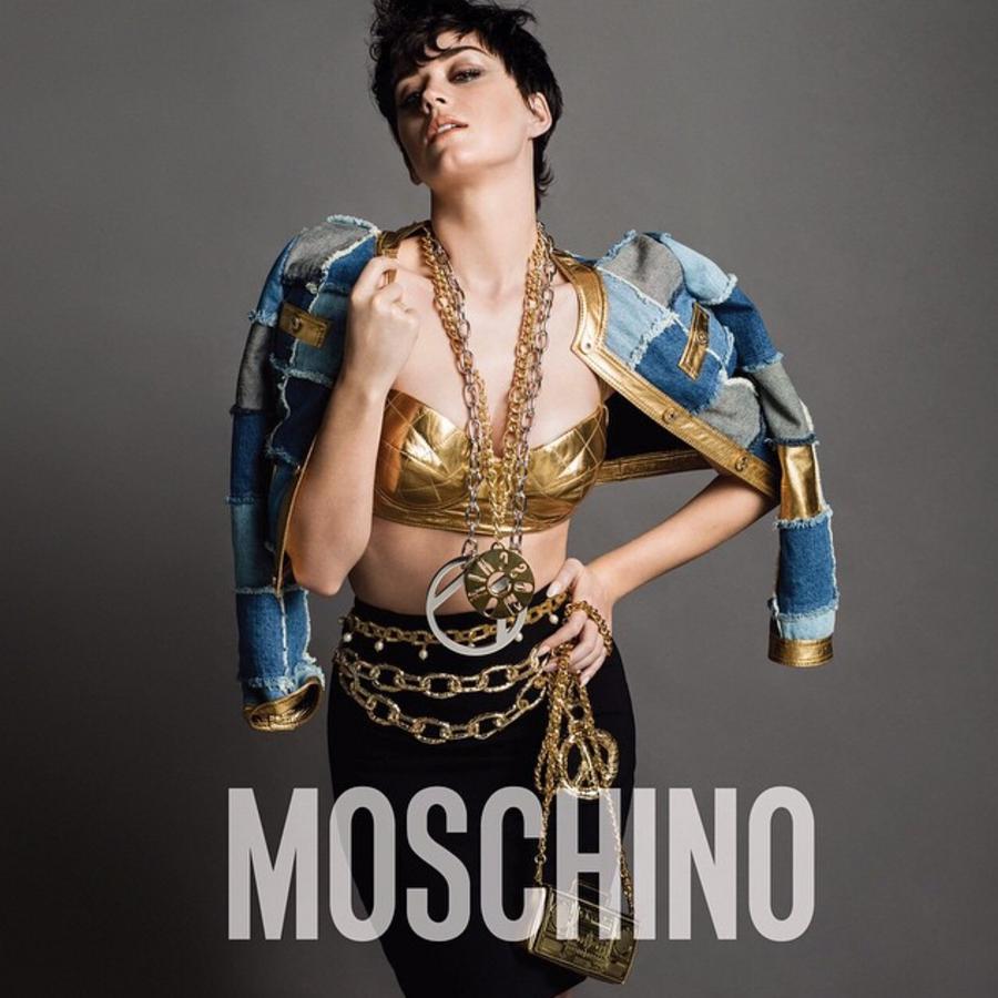 Кэти Перри стала новым лицом  Moschino
