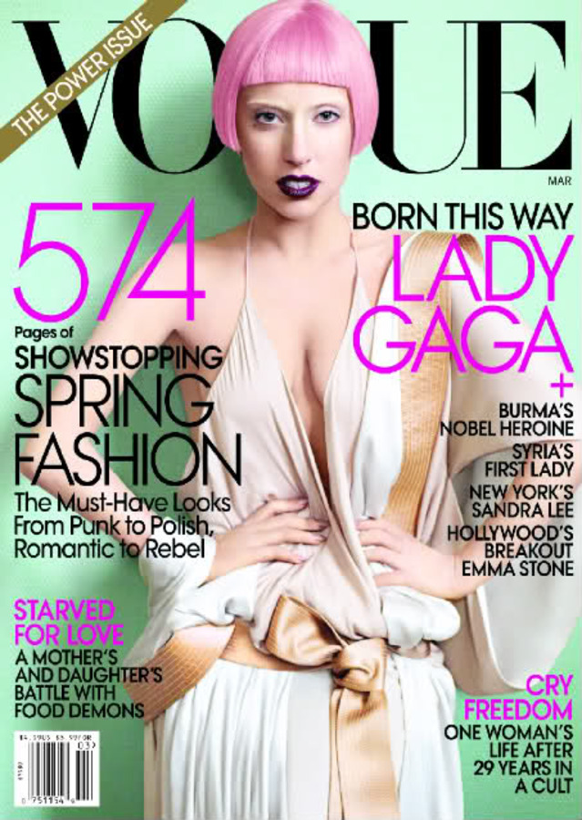 Интервью Lady Gaga в журнале Vogue