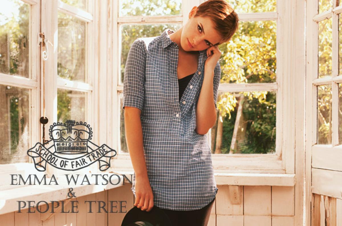 Эмма Уотсон для People Tree