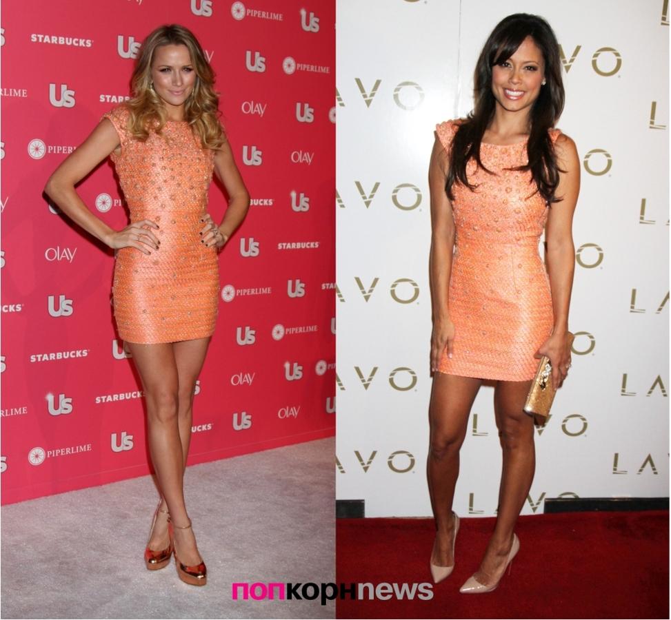 Fashion Battle: Шантель ВанСантен и Ванесса Миннилло
