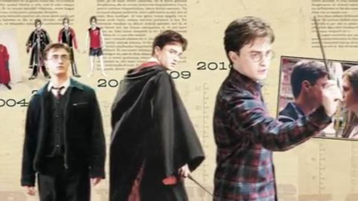 Промо-ролик книги Harry Potter Film Wizardry