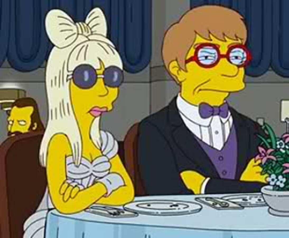 Lady Gaga появится в «Симпсонах»