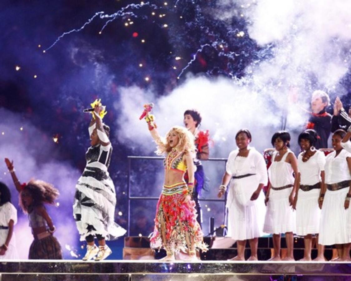 Шакира на закрытие Чемпионата мира по футболу