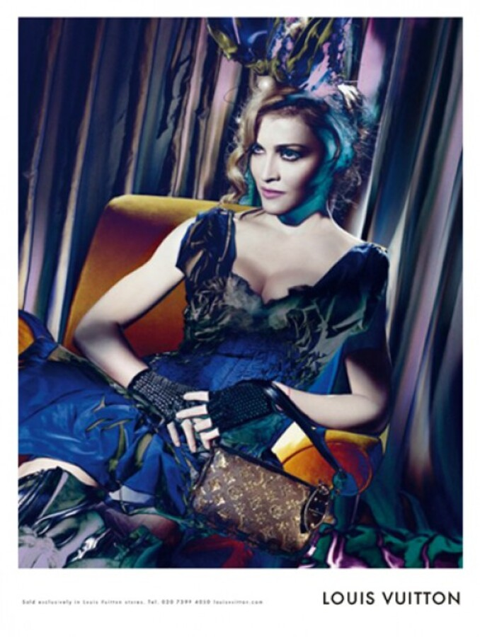 Видео: как снимали рекламу Louis Vuitton с Мадонной