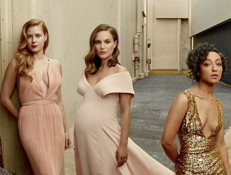 Эмма Стоун, Натали Портман, Эми Адамс и другие звезды в «голливудском» спецвыпуске Vanity Fair