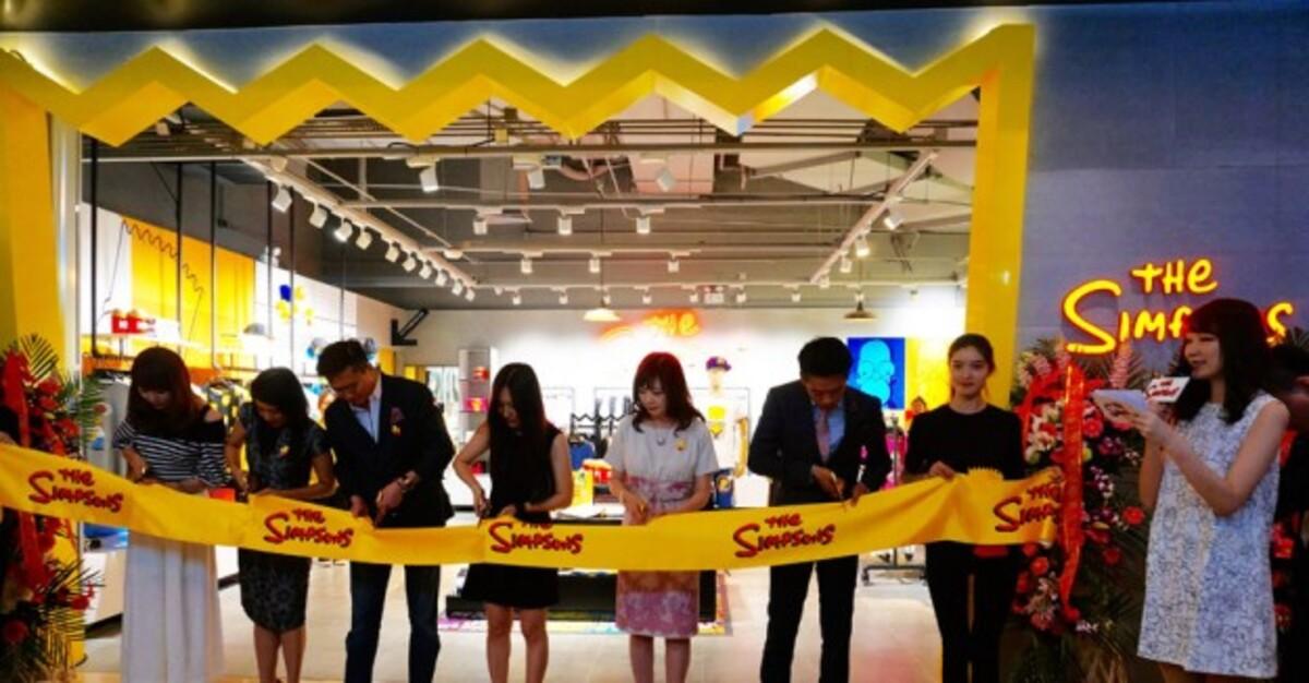 В Пекине открылся первый в мире магазин, посвященный Симпсонам