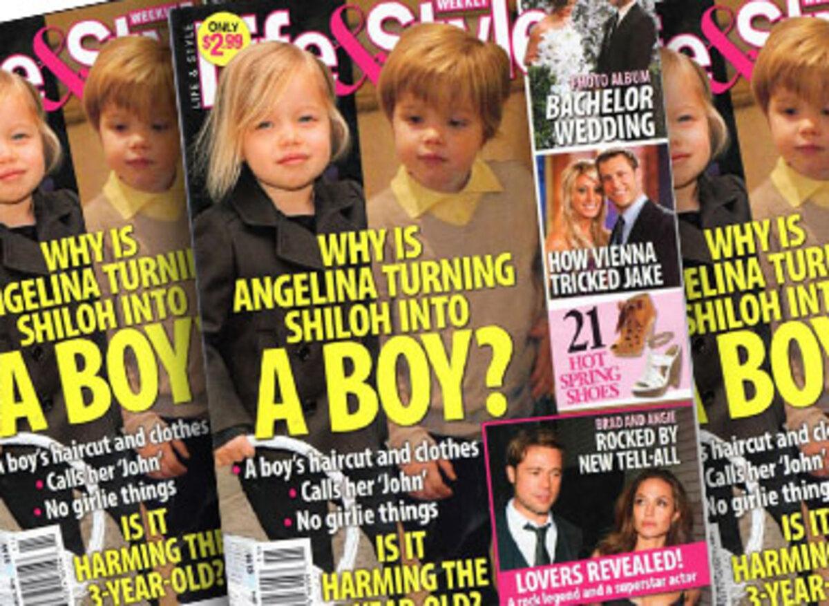 Эксперты критикуют Джоли и Питта за прическу их дочери