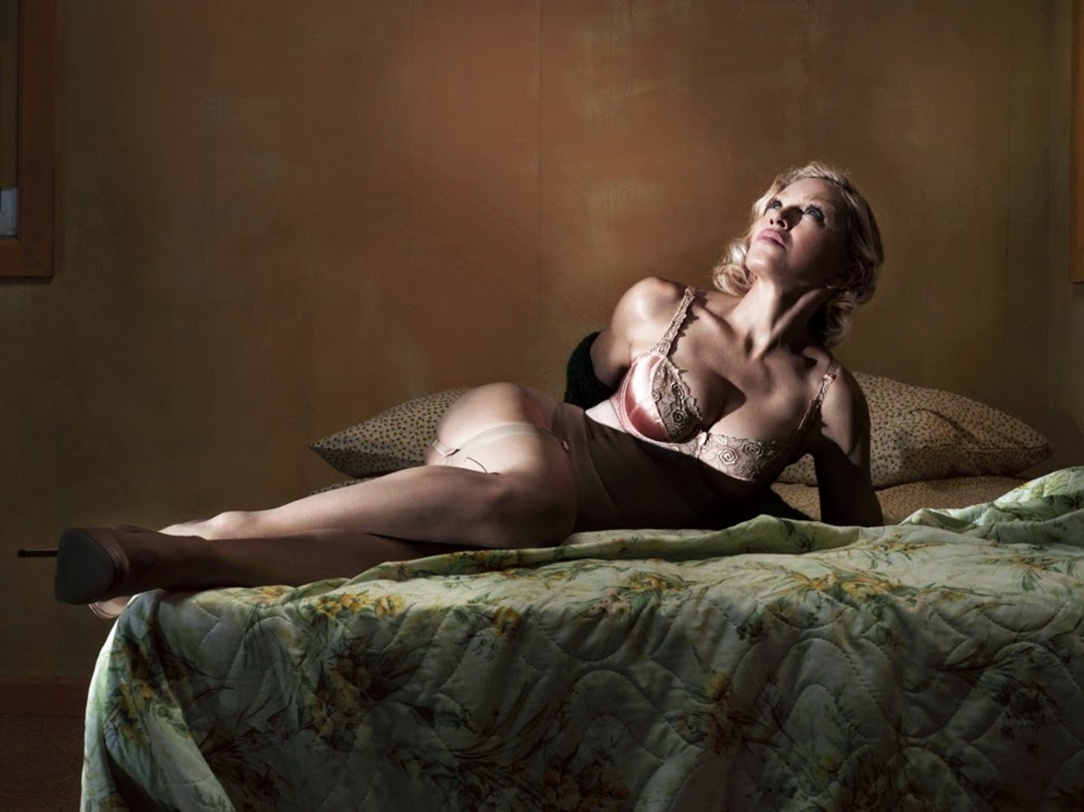 Обнаженная Мадонна в журнале Interview. Декабрь / январь 2014-2015