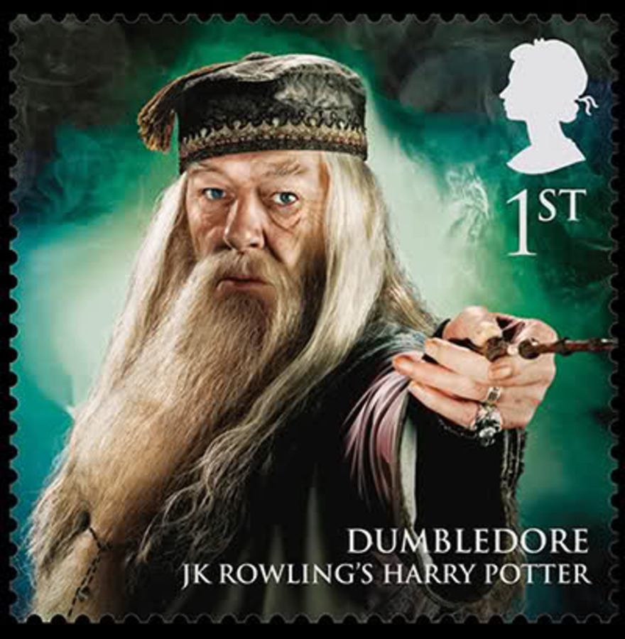 Королевская почта выпустила марки с известными волшебниками