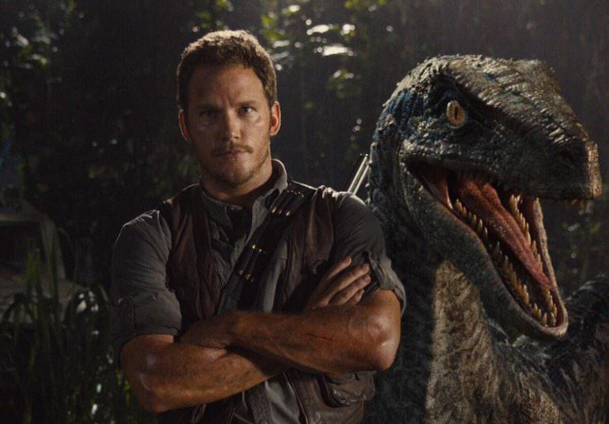 Крис Прэтт и его «домашний» динозавр