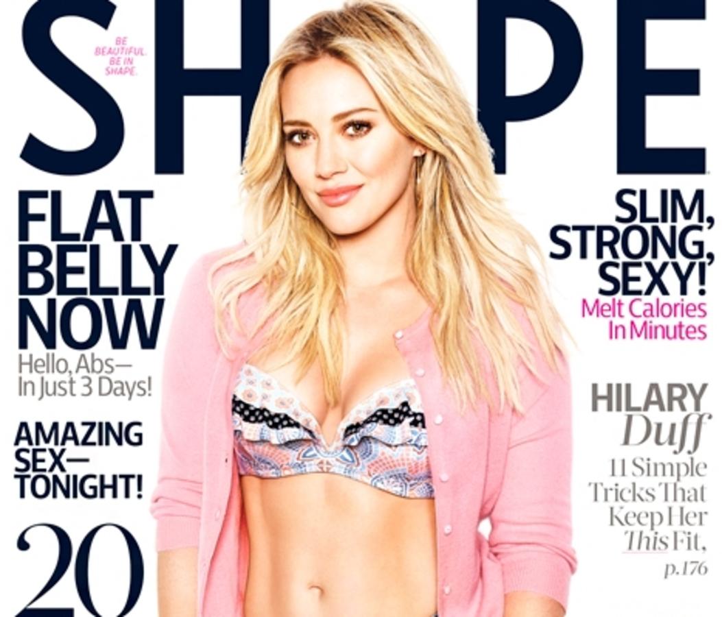Хилари Дафф в журнале Shape. Май 2015