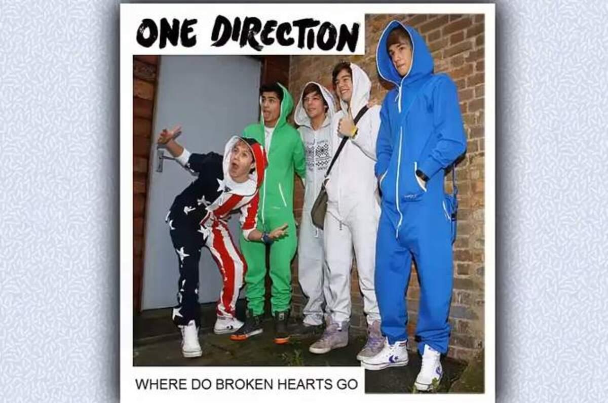 Новая песня One Direction - Where Do Broken Hearts Go